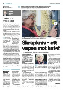The hate destroyer. LO-Tidningen nov 2011